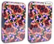 RFID Safe Card Guard Aluminum Compact Card Holder - Butterfly - 2 PACK