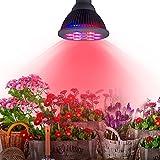 TaoTronics 24w Led Grow light Bulb , Miracle Grow Plant Light for Hydropoics Organic Mini Greenhouse (3 Bands)