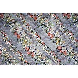 Triveni BRASSO Fabrics (TSFD015_BEIGE)