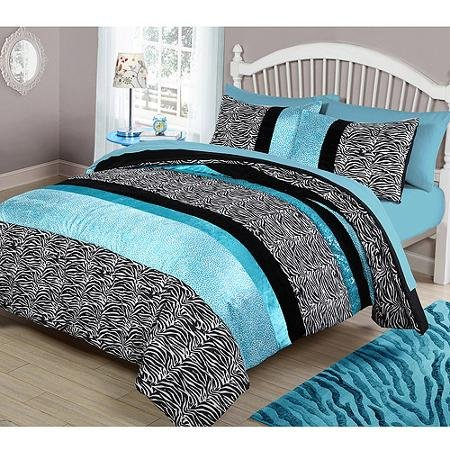 Teal and black bedding - Bedspreads for teenagers ...