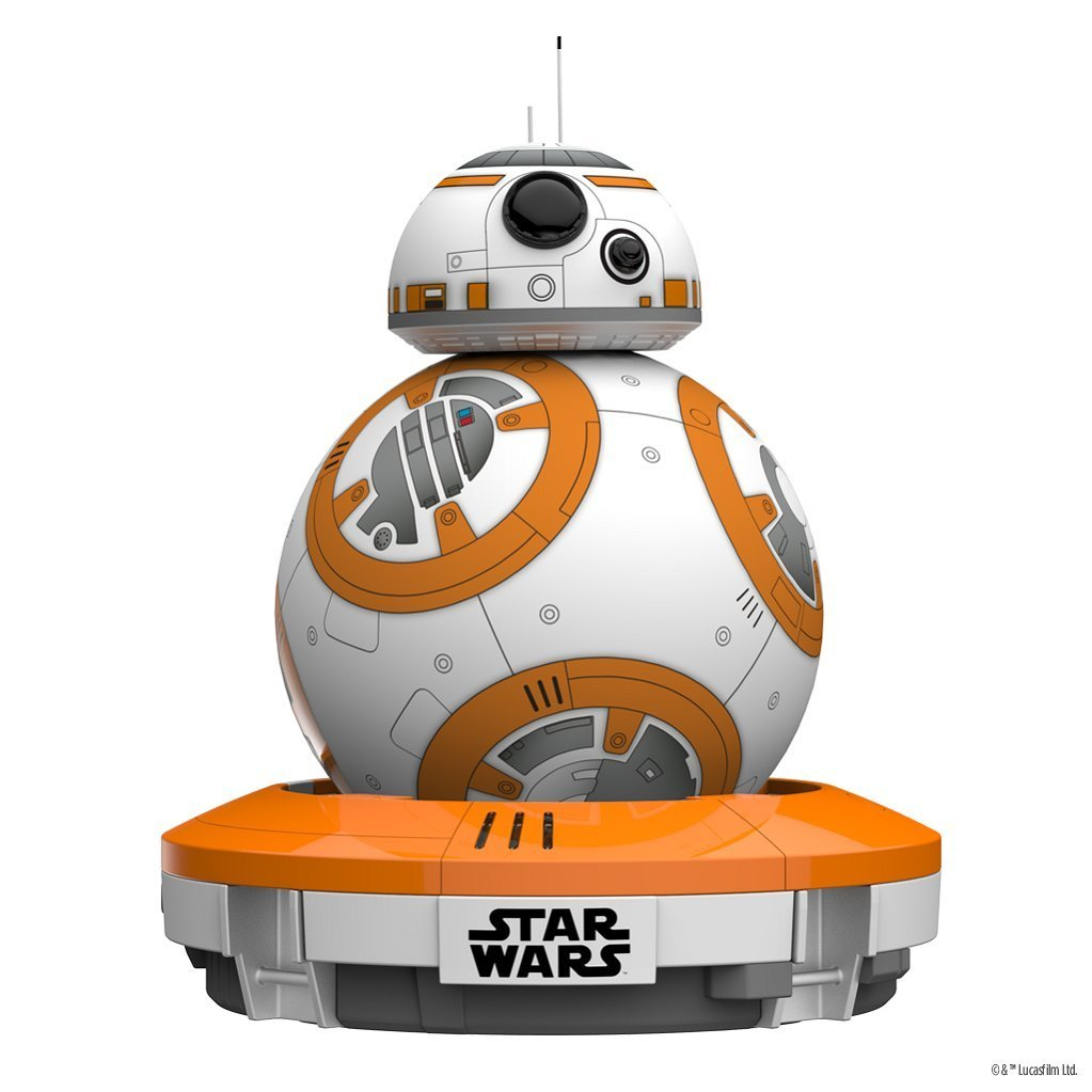 Sphero s star wars bb 8 droid gadget film star wars il risveglio