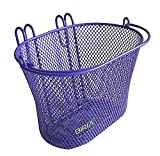 Basket with hooks PURPLE, Front, Removable, Children wire mesh SMALL...
