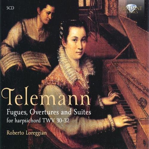 Fugues Overtures Preludes & Suites Twv31-32