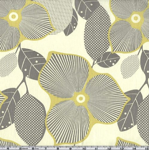 45'' Wide Amy Butler Midwest Modern Optic Blossom Linen By The Yard