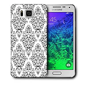 Snoogg Mixed Design Pattern Printed Protective Phone Back Case Cover For Samsung Galaxy SAMSUNG GALAXY ALPHA