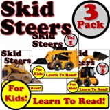 Skid steers loaders 3 pack: super skid steer loaders digging dirt on the jobsite! (over 120 photos of skid steer...