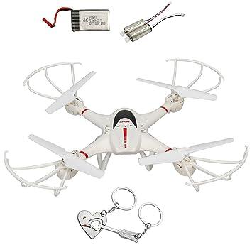 Onebird MJX X400 2.4 G 6-axes gyro 4CH RC Hexacopter Quadcopter avec C4002 caméra drone du mode Mode sans tête hélicoptère RC hélicoptère + une batterie de rechange + 2 Moteurs de rechange