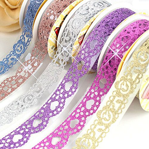 by-washi-tape-lace-pattern-glitter-bling-self-adhesive-tapediamond-washi-tape-masking-diy-scrapbooki