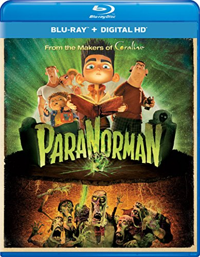 Blu-ray : Paranorman (Ultraviolet Digital Copy, Snap Case, Digital Copy, Digitally Mastered in HD)