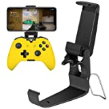 Strat Controller Phone Mount for Xbox One/Xbox One S, Xbox Elite Controller (Color: Black)