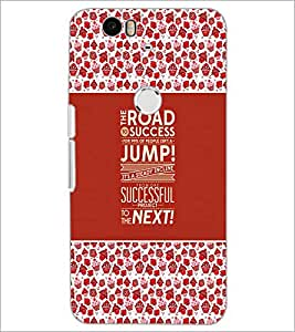 PrintDhaba Quote D-3671 Back Case Cover for HUAWEI NEXUS 6P (Multi-Coloured)