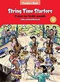 String Time Starters Teacher's book + CD: 21 pieces for flexible ensemble