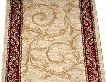 Amazon Com Dean Tan Scrollworks Carpet Rug Hallway Stair