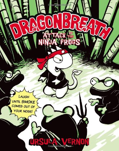 Attack of the Ninja Frogs (Dragonbreath)