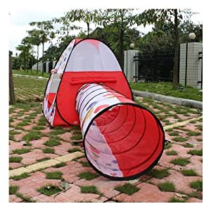 AGPtek® Kids Pop up Tent Tent Find me Play Tent And Tunnel For Child