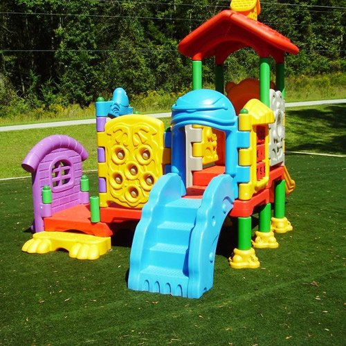 Kidwise Playland Kidcenter #4 - Commercial Playground Structure front-903812