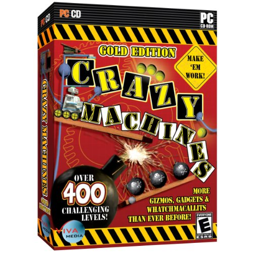 Crazy Machines: Gold Edition - More Gizmos, Gadgets and Whatchamacallits Than Ever Before!