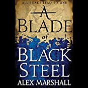 A Blade of Black Steel: Crimson Empire, Book 2 | Alex Marshall