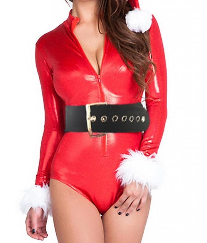 Lukis Damen Weihnachtskostüm Bustier Bodysuit Dessous Cosplay online kaufen