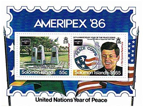 timbres-president-kennedy-pour-les-collectionneurs-annee-des-nations-unies-de-la-paix-2-superbes-tim