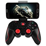 TY Tech Wireless Bluetooth 3.0 Gamepad Gaming Controller for Android System (Black)