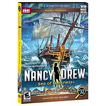 Nancy Drew: Sea of Darkness | PC Disc