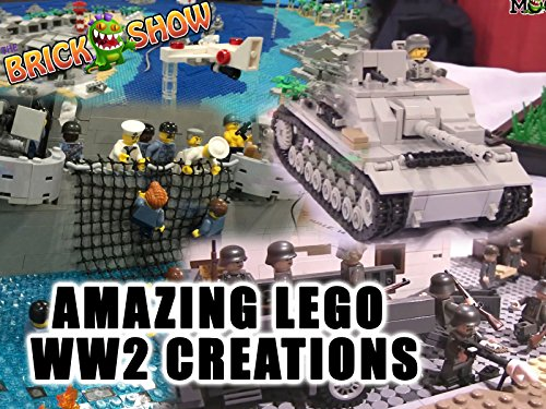 Clip: Amazing LEGO World War 2 Creations - Season 1