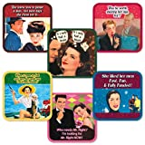 Olive Sandwiches Pub Coasters - The Dating Game by Santa Barbara Design Studio