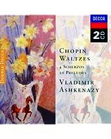 Chopin: Waltzes; 4 Scherzos; 26 Preludes (2 CDs)