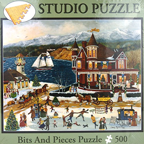 Memories of Christmas by Cindy Mangutz Bits and Pieces 500 Piece Studio Jigsaw Puzzle