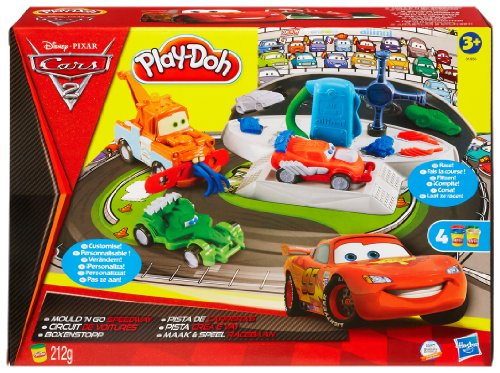 Playdoh - Disney Cars 2 Mould 'N Go Speedway