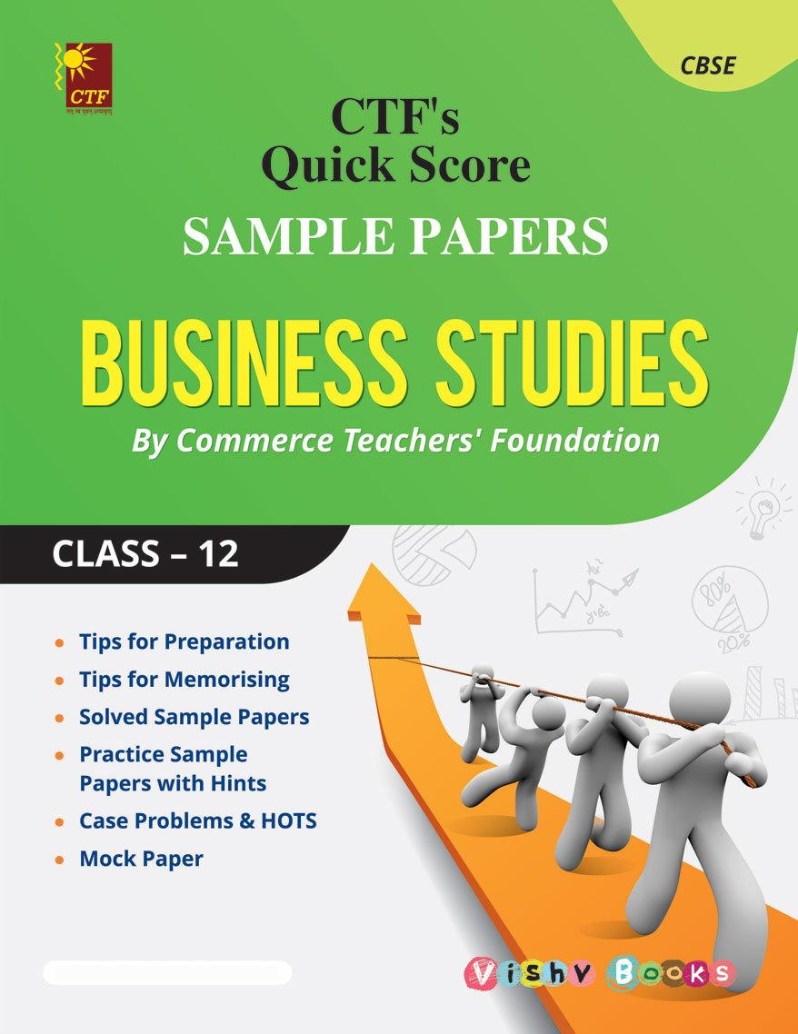 sample papers business studies class in by commerce sample papers business studies class 12 in by commerce teachers foundation books