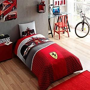 Ferrari F1 Race, Bedding Set, Single (Mixt)