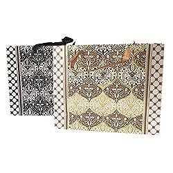 Damask Gift Bags (Set of 2)