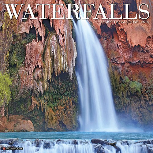 2016 Waterfalls Wall Calendar
