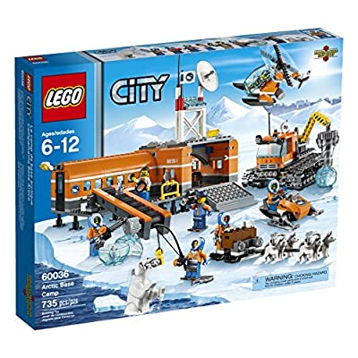 LEGO City Arctic Base Camp 60036 Building Toy by LEGO City Arctic