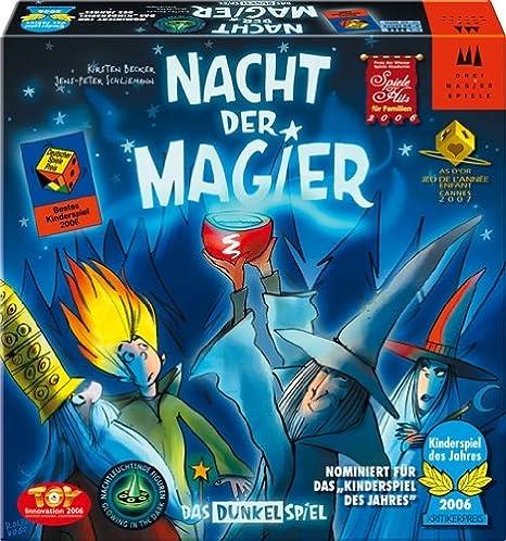 """Drei Magier Spiele - 40810 - Jeu de société """"Nacht der Magier"""" - Langue: allemande"""