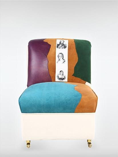 Vintage Sessel 1960 bunt SD93