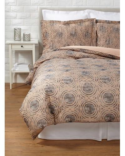 Belle Epoque Terracotta Circles Duvet Cover Set
