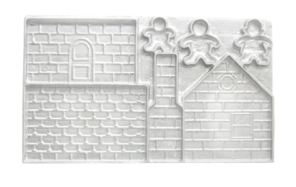 Amazon.com: Kitchen Supply Gingerbread House Mold: Novelty Cake ...