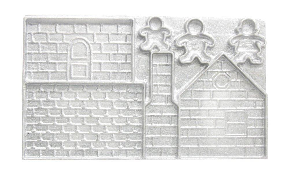 Amazon.com: Kitchen Supply Gingerbread House Mold: Novelty Cake ...