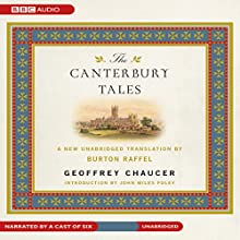 The Canterbury Tales: A New Unabridged Translation by Burton Raffel (       UNABRIDGED) by Geoffrey Chaucer Narrated by uncredited