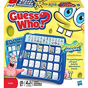 Spongebob Squarepants Guess Who? Board Game