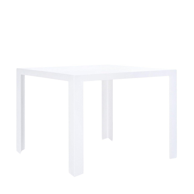 Invisible Tisch 100 x 100 cm, h 72 cm – weiß günstig kaufen