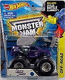 Mohawk Warrior Purple 2015 Hot Wheels Monster Jam Monster Truck Includes Snap-on Battle Slammer 1:64 Scale #8