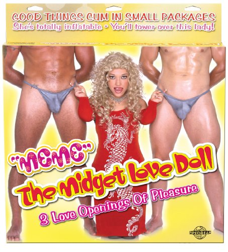 Pipedream Products Meme The Midget Love Doll, Flesh