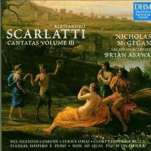 A. Scarlatti Cantatas, Volume III / McGegan, Brian Asawa