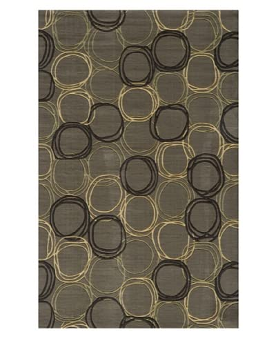 Momeni Dot Rug, Grey, 2' 6 x 8' Runner