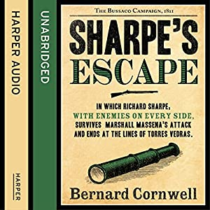 Sharpe's Escape: The Bussaco Campaign, 1810 Hörbuch