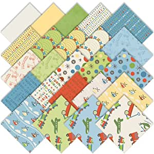 """Deena Rutter SCOOT 5"""" Stacker Charm Pack Fabric Quilting Squares Riley Blake 5-SCO-24"""